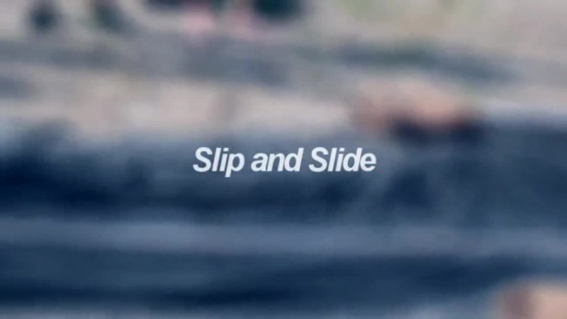 RAD Germany, RAD Slip and Slide, Slip and Slide 2018, Teaser, Rampe, Backflip, Wassersport, Funsport, Extremsport, Sporteven, Badesee St. Agahta, 11.08.18